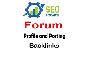 Create 2000 HQ PR Forum Profiles backlinks