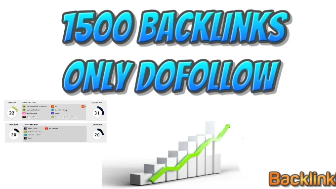 Provide 1,500 DoFollow backlinks best for your seo