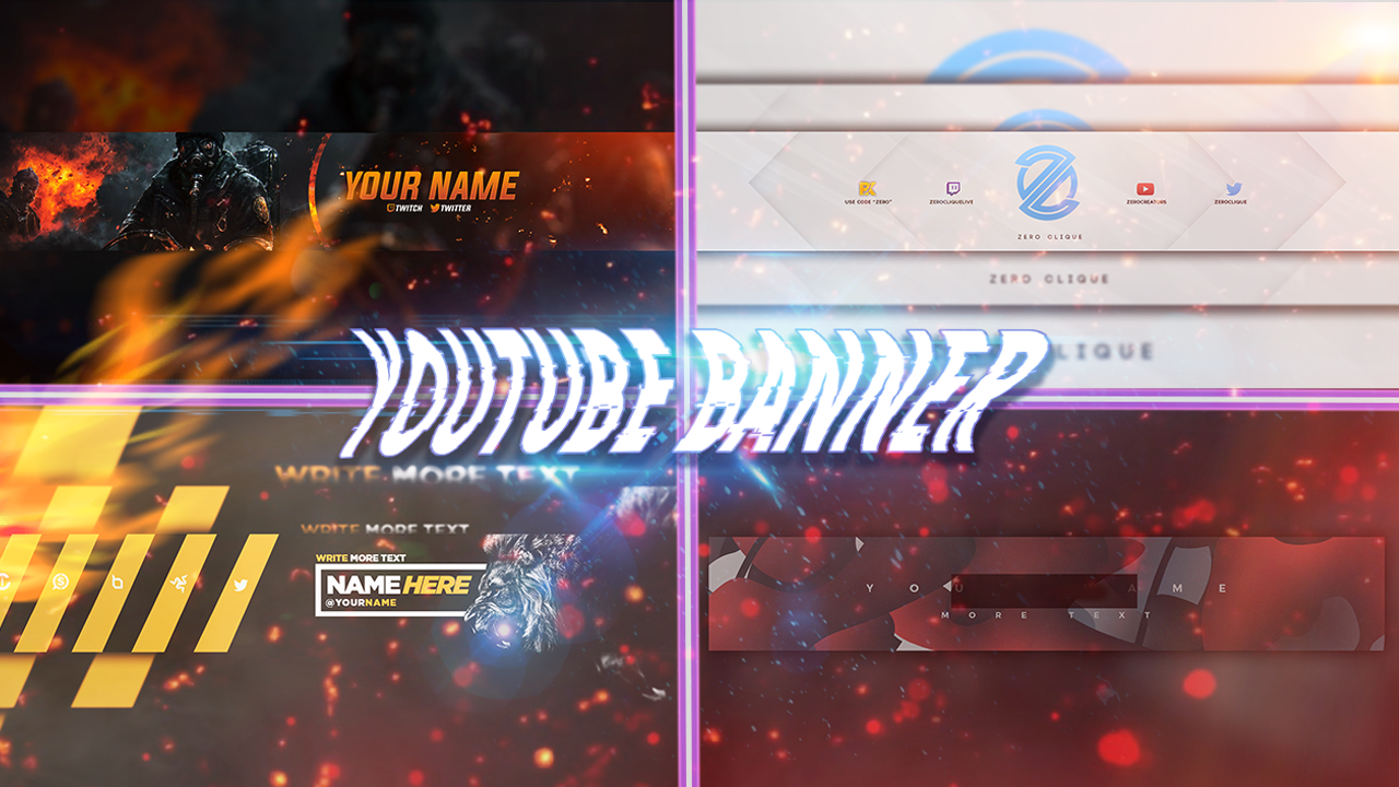 Get your Youtube Banner for Cheap