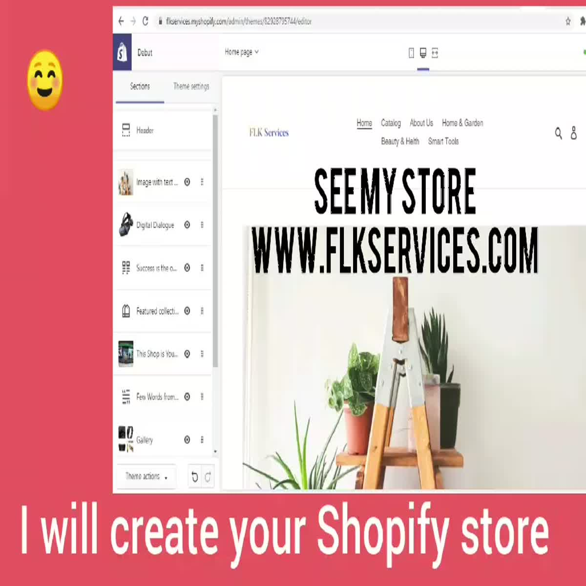 Create Full completed online Store with content & focusing on SEO