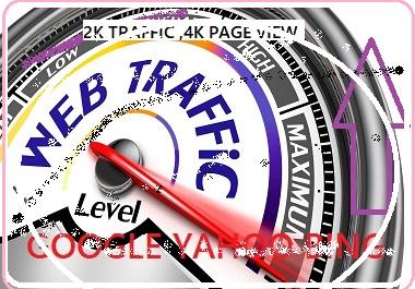 2k+ Safe Visitors/Traffic to your Website Or Link