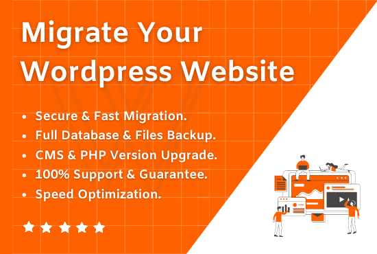 I will migrate wordpress or joomla website,  migration in just 24 Hours