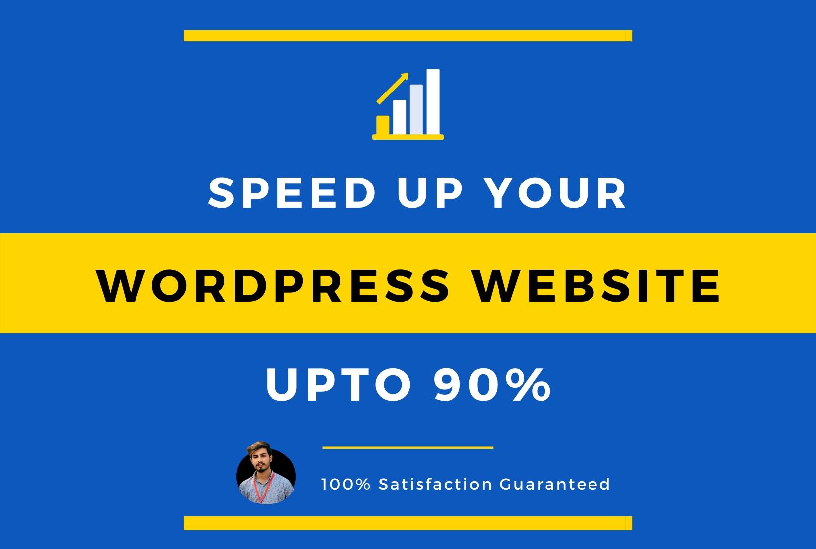 I will dramatically increase joomla or wordpress website speed, optimization upto 90%