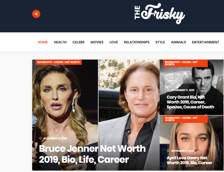 I will publish guest post google news magazine site thefrisky. com DA 82