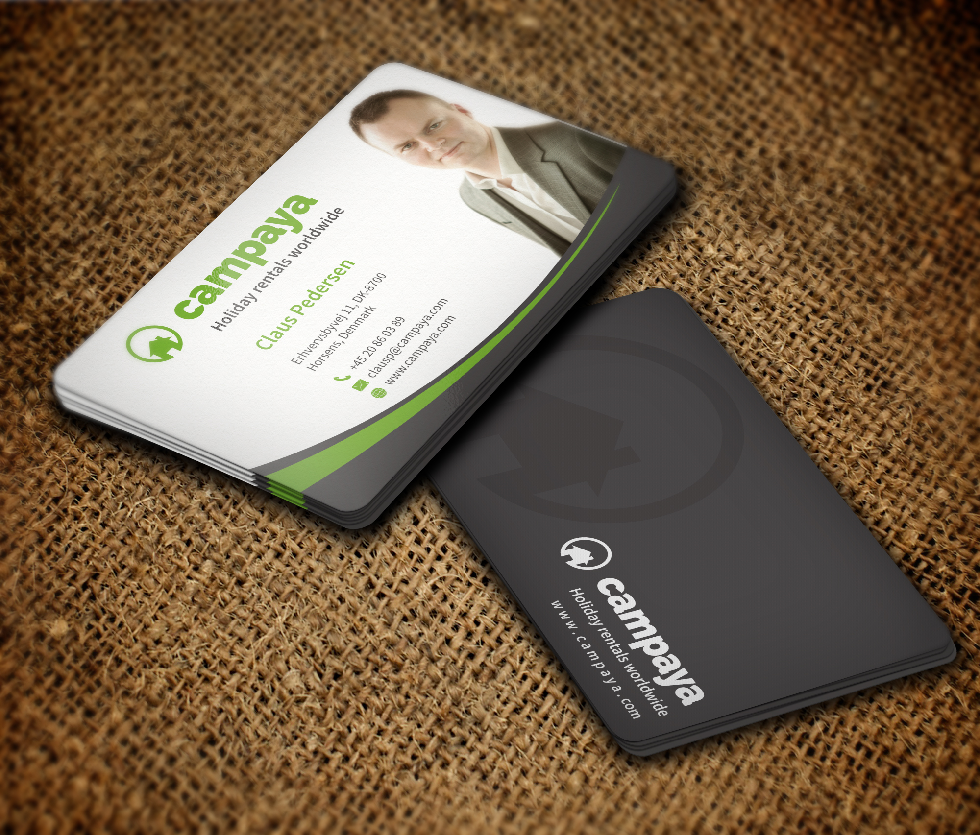 I will design attractive business card