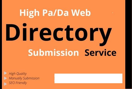 I will do create 200 directory submission guarantee google indexable