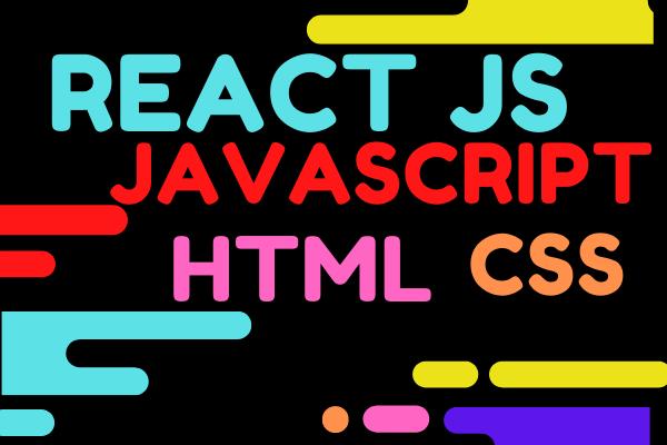 I will do react UI javascript node html css js front end code