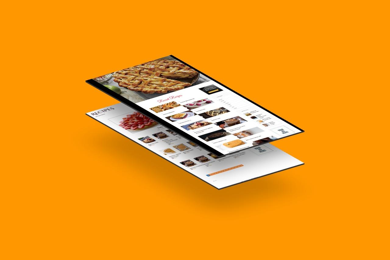 +13000 Recipes WordPress Established Website ll Highly profitable