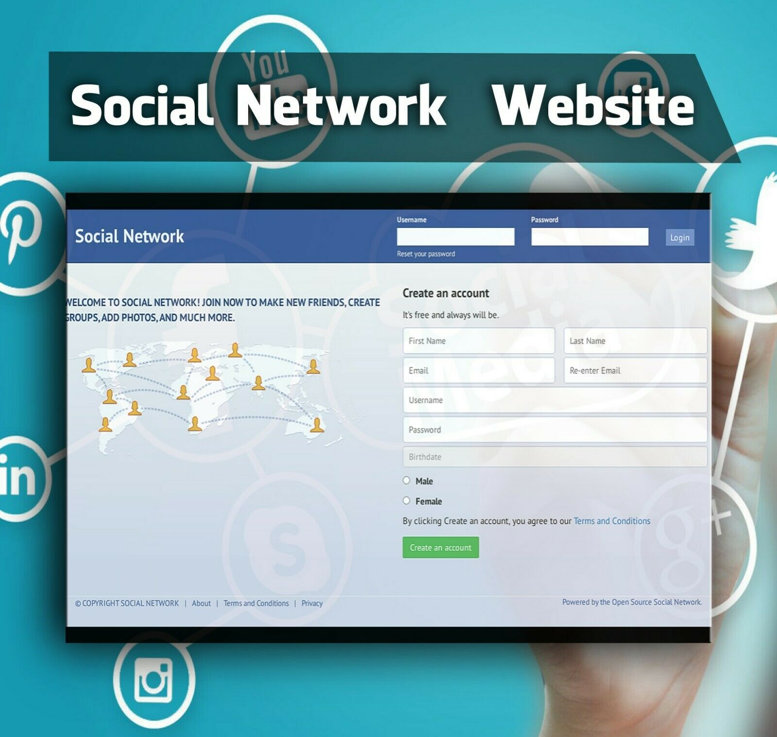 Social Network Website Installation + Amazing Bonus