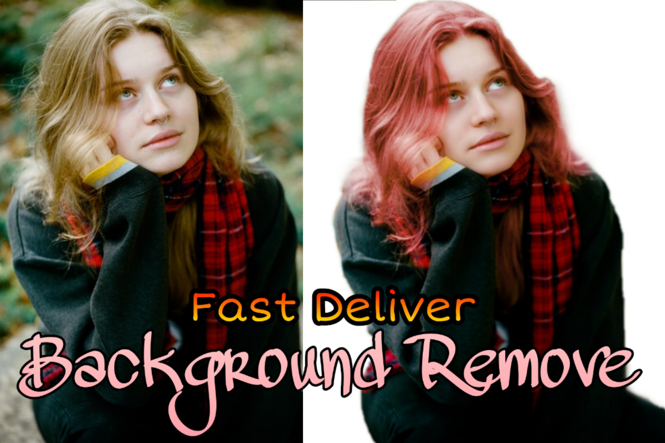 do photo edit and background remove fast 15 hours