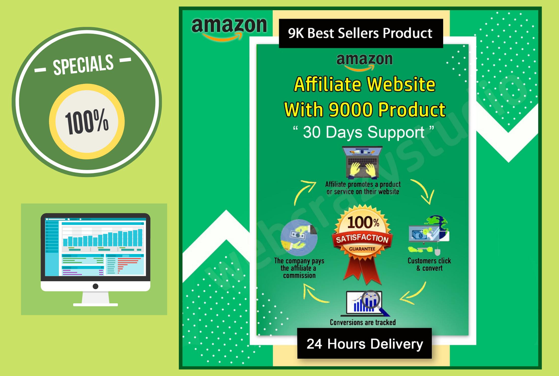 build amazon affiliate website with autopilot 9k products