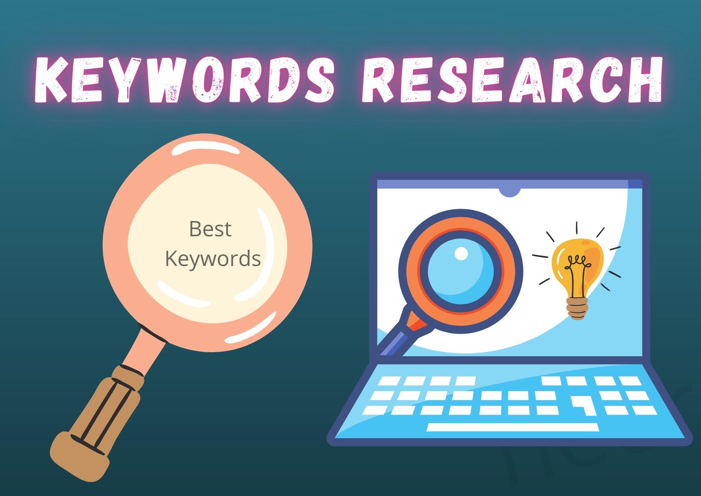 I will find best keywords for your website