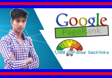 Get 1,500 DoFollow backlinks PR 1-8 no PR 0 by babur jast