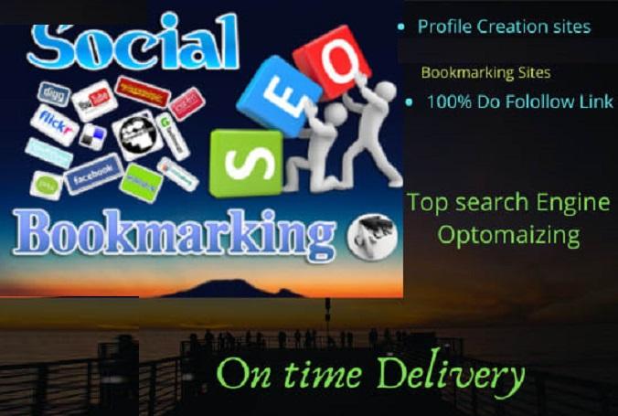 Top 20 HQ Social Bookmarks Backlinks For Your Website On PR10 To PR6 Sites
