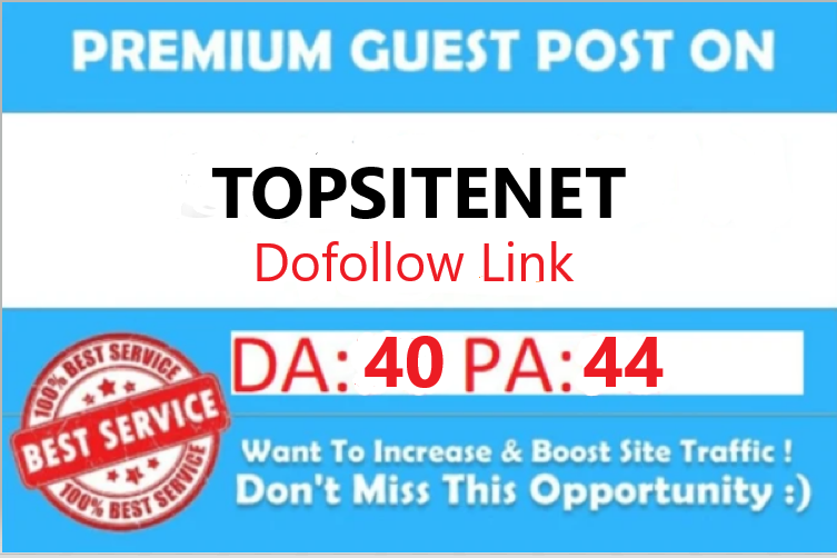 guest post on da40 topsitenet writing + posting