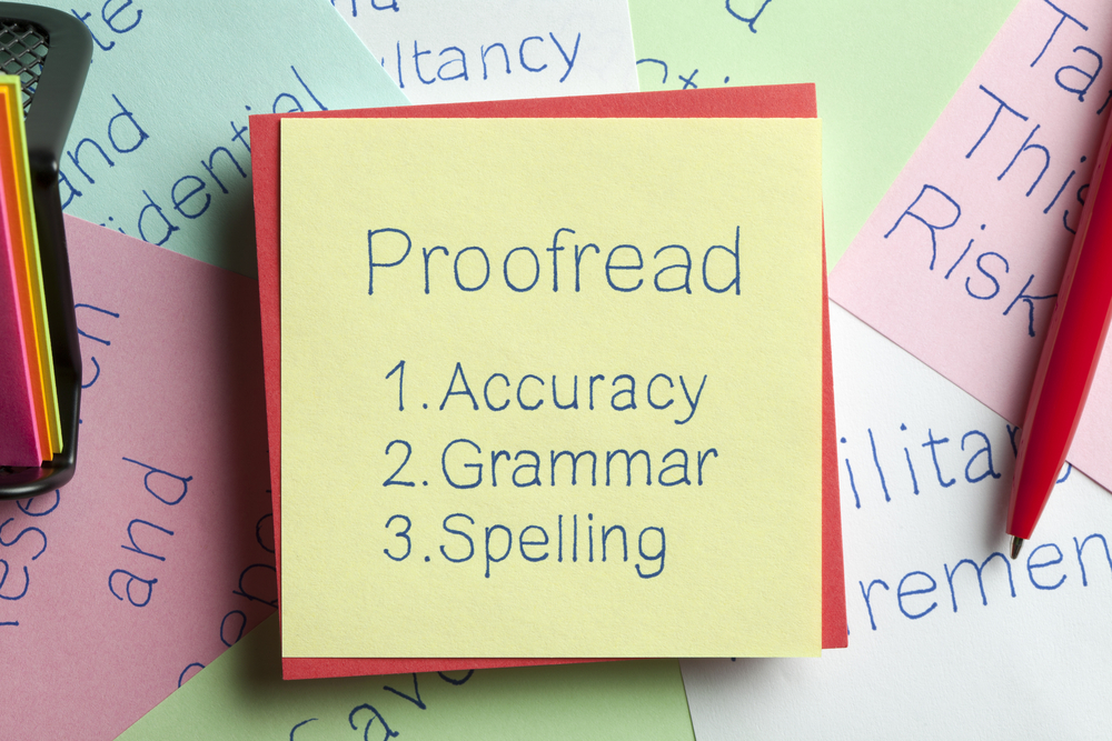 I will proofread and edit your english contents and books