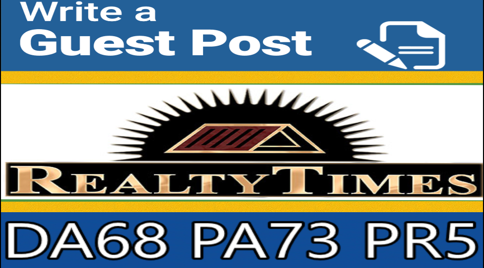 Write & Publish Guest Post on Realtytimes. com