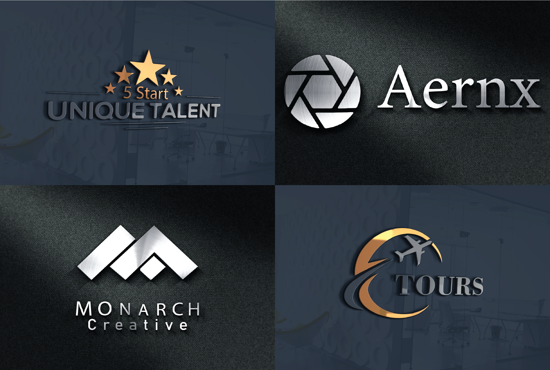 I will design attractive brand unique logo for you