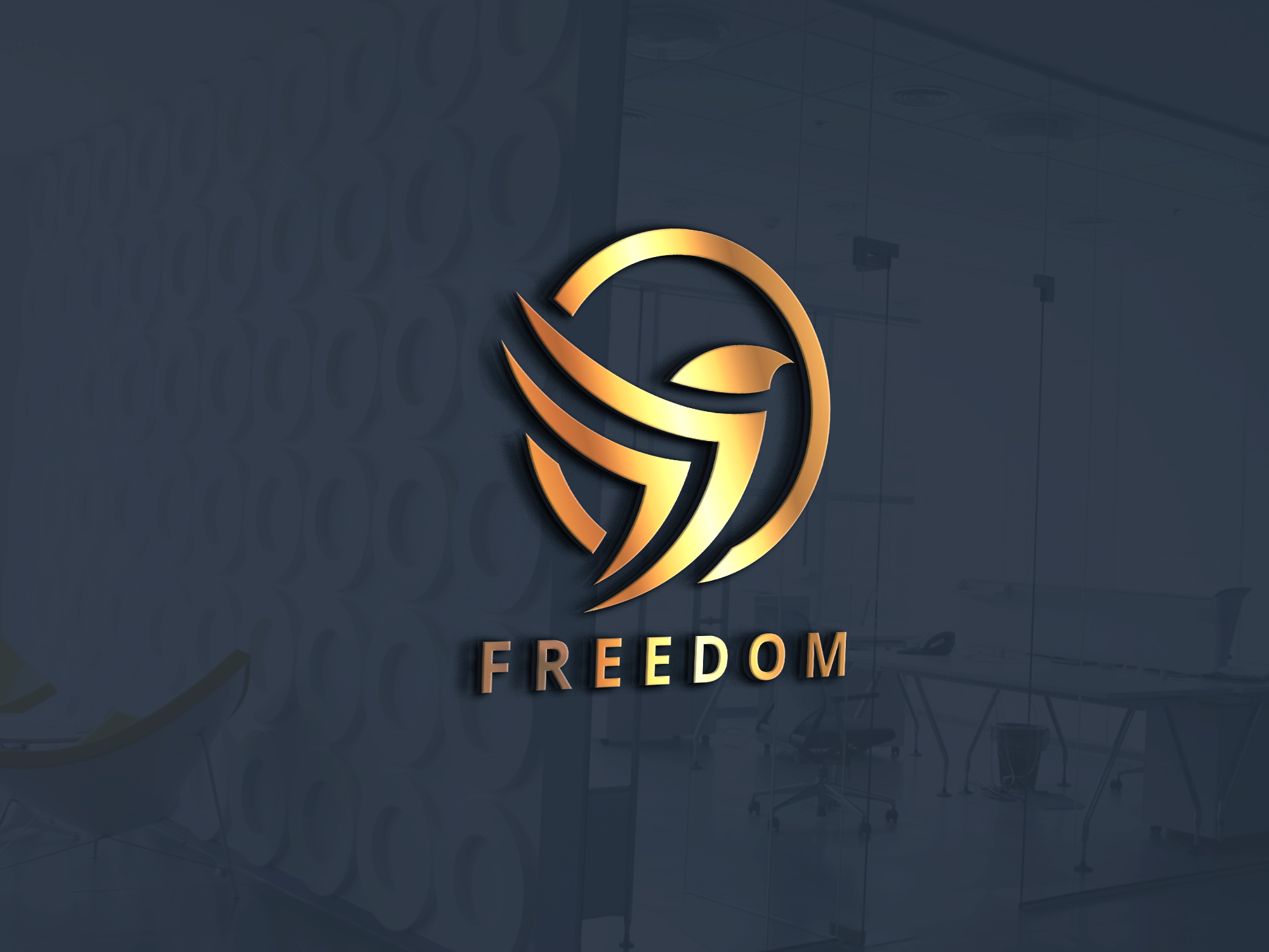 I will design 2 modern unique and 3D logo for you