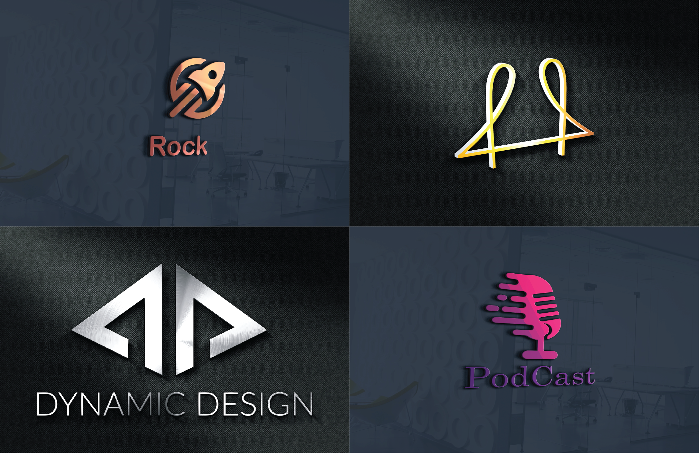 I will design unique logo with all copyrights