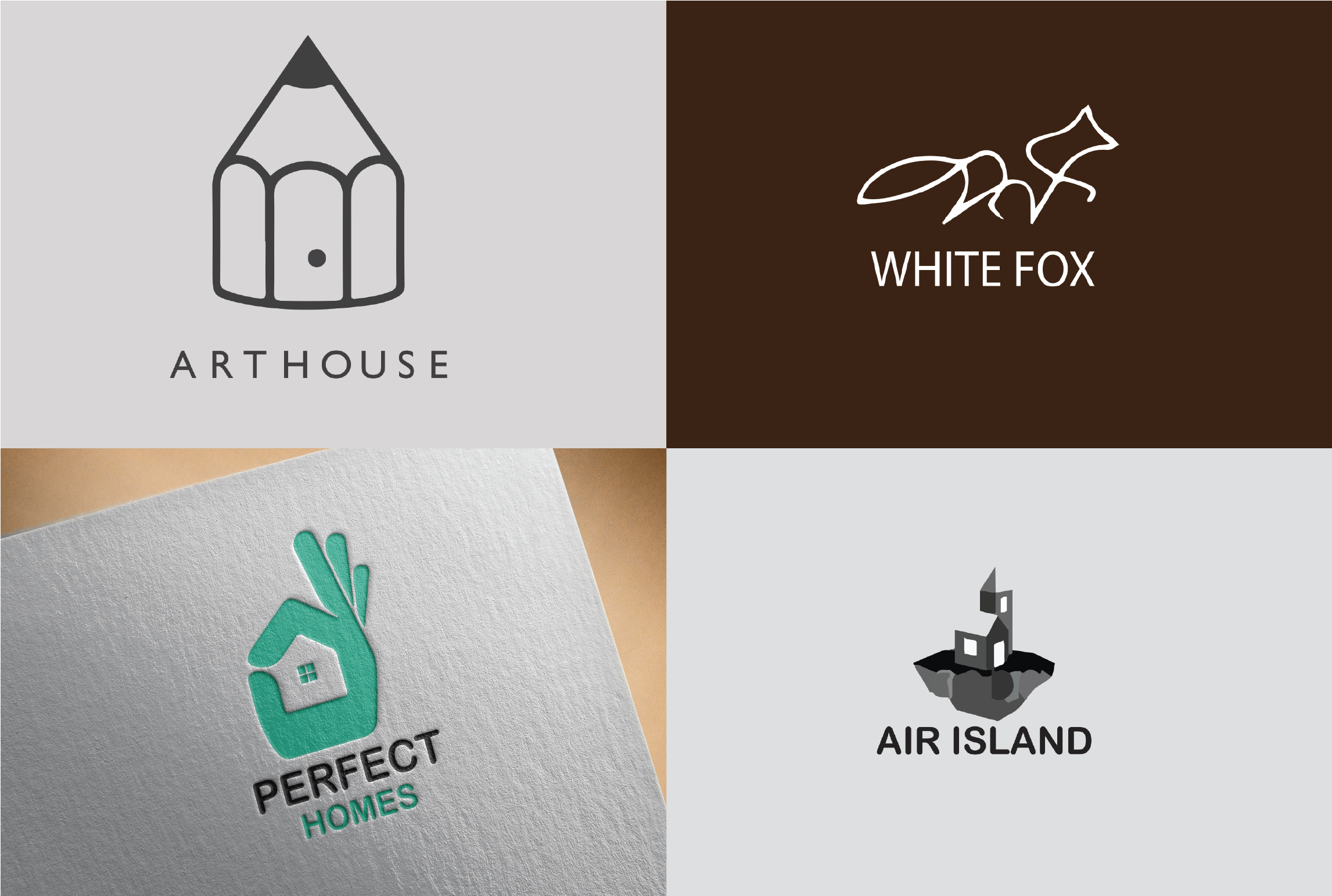 I will design 3 different logo for you