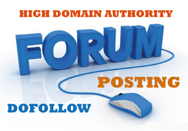 Get 30 Forum profiles backlinks from high quality forums