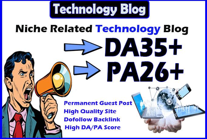 do guest post on da35 hq technology blog permanent