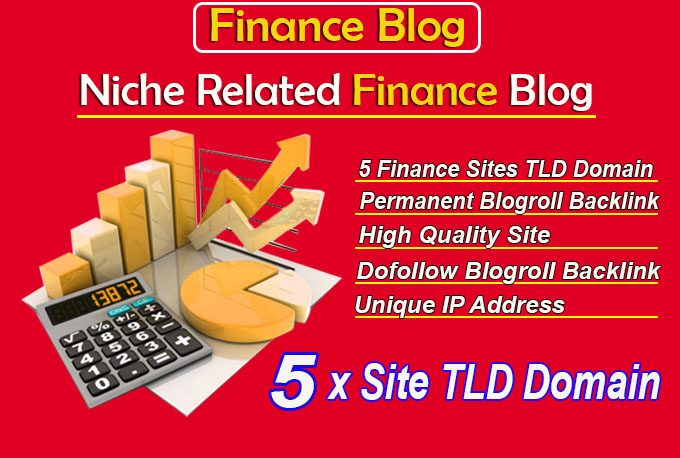give link 5x site Finance TLD blogroll permanent