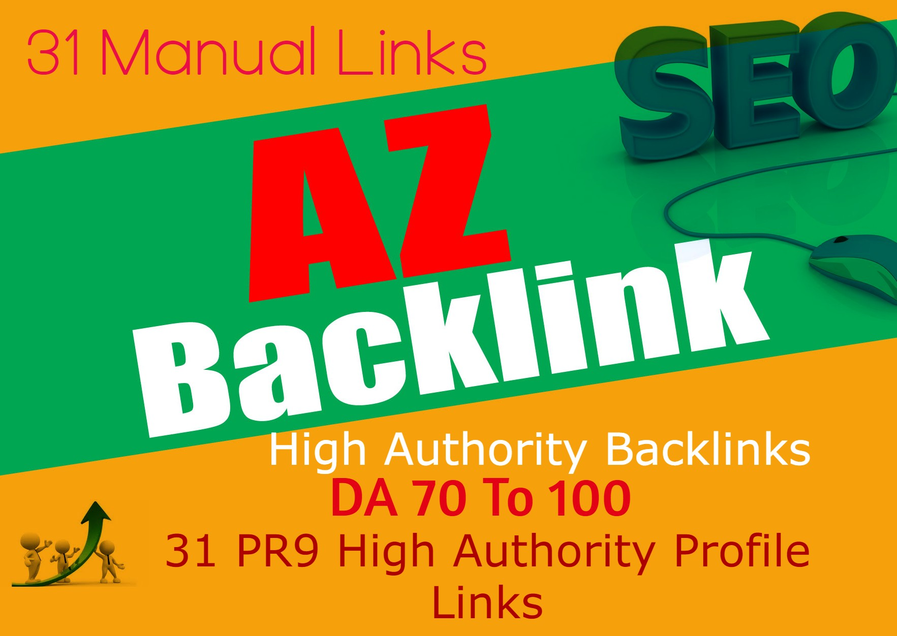 31 Authority Backlinks From 31 HQ Profile Links