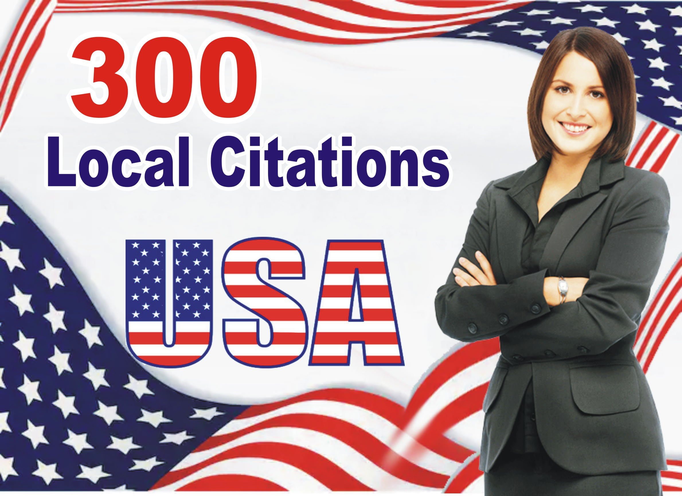 I will do 300 USA local citations and directory submission