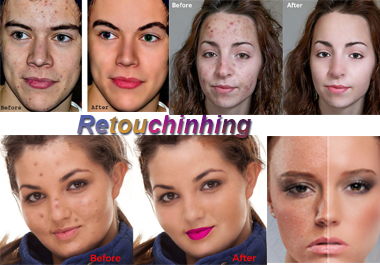 I will do perfect retouch on your image