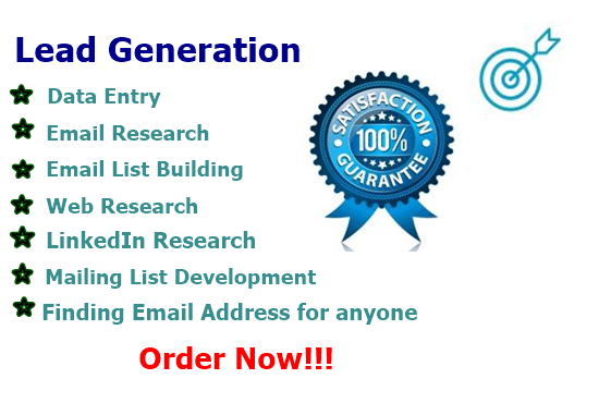 I will do data entry,data mining,copy paste,web research
