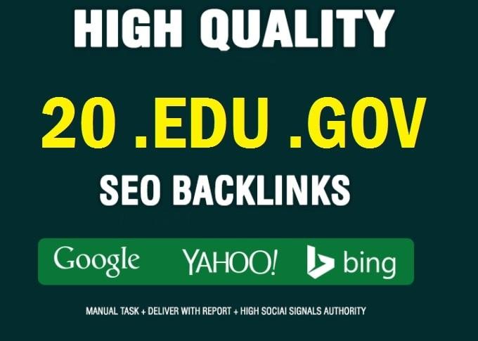 20 EDU/GOV Dynamic Multi backlinks From Big Universities & gov Site Affordable Price