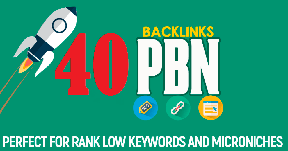 40 PBN DA 30 To 15 Aged Domains High PA/CF/TF Dofollow Permanent contextual backlinks