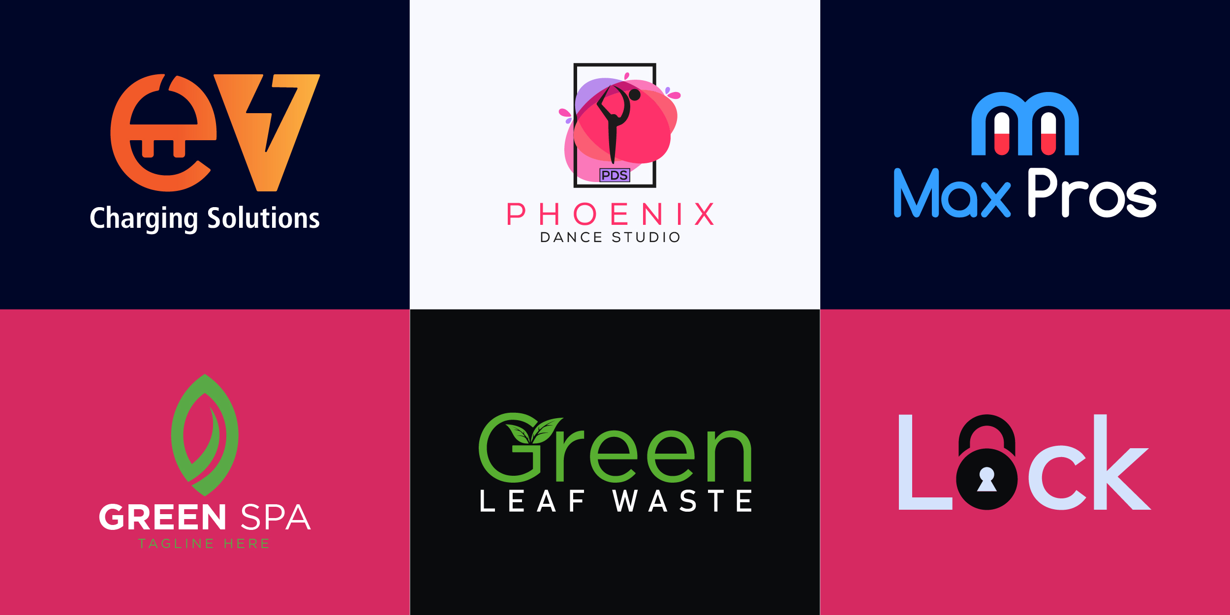 I will do professional Brand logo Design