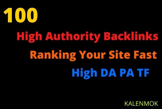 Ranking Your Site With High Quality Dofollow Backlinks High DA PA TF