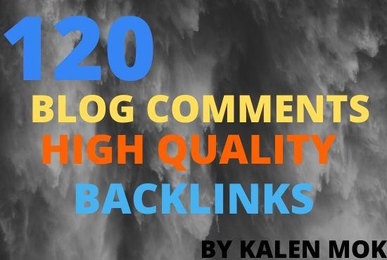 I Will Do 180 blog comments high quality backlinks DA 30+