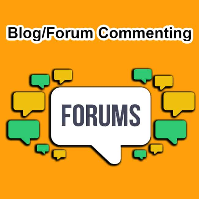 20 High Quality Forum Posting Backlinks