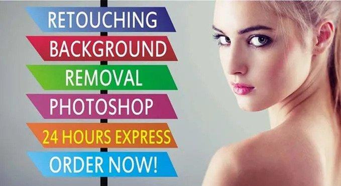 I will photoshop editing,background removal,image retouching,resize