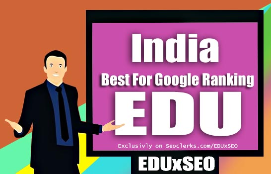 India Based 400 EDU GOV permanent Backlink