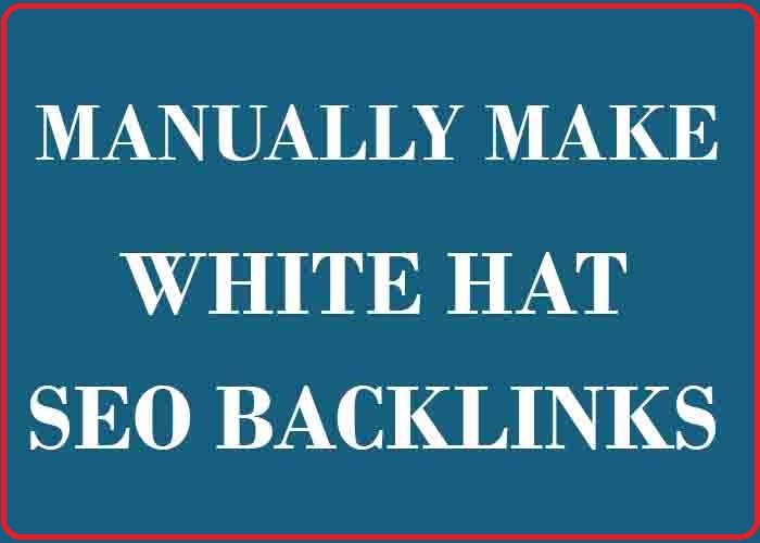 I will create manually 100 high quality SEO backlinks link-building google top ranking