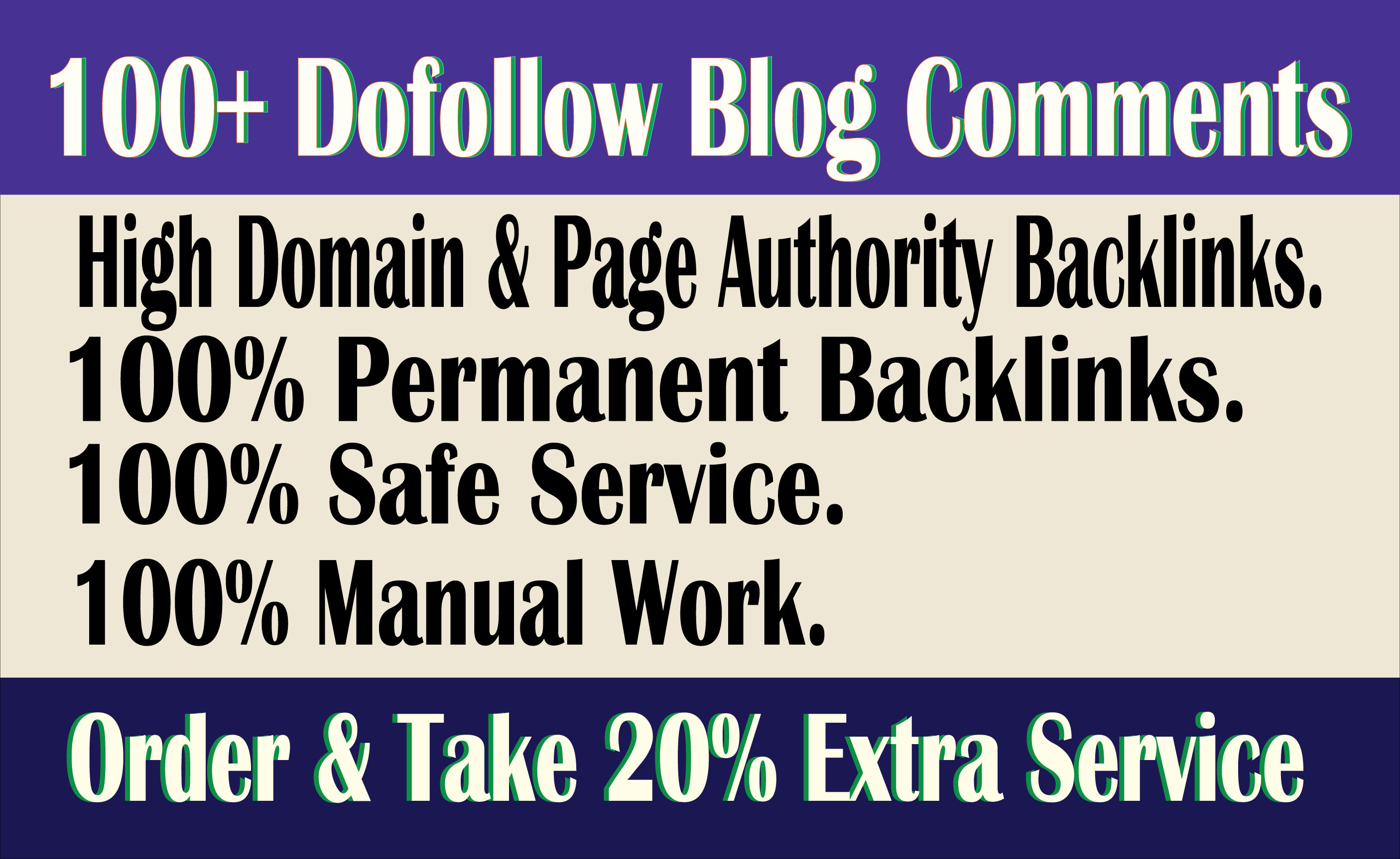 Build High Quality100+ Dofollow Blog Comments Backlinks