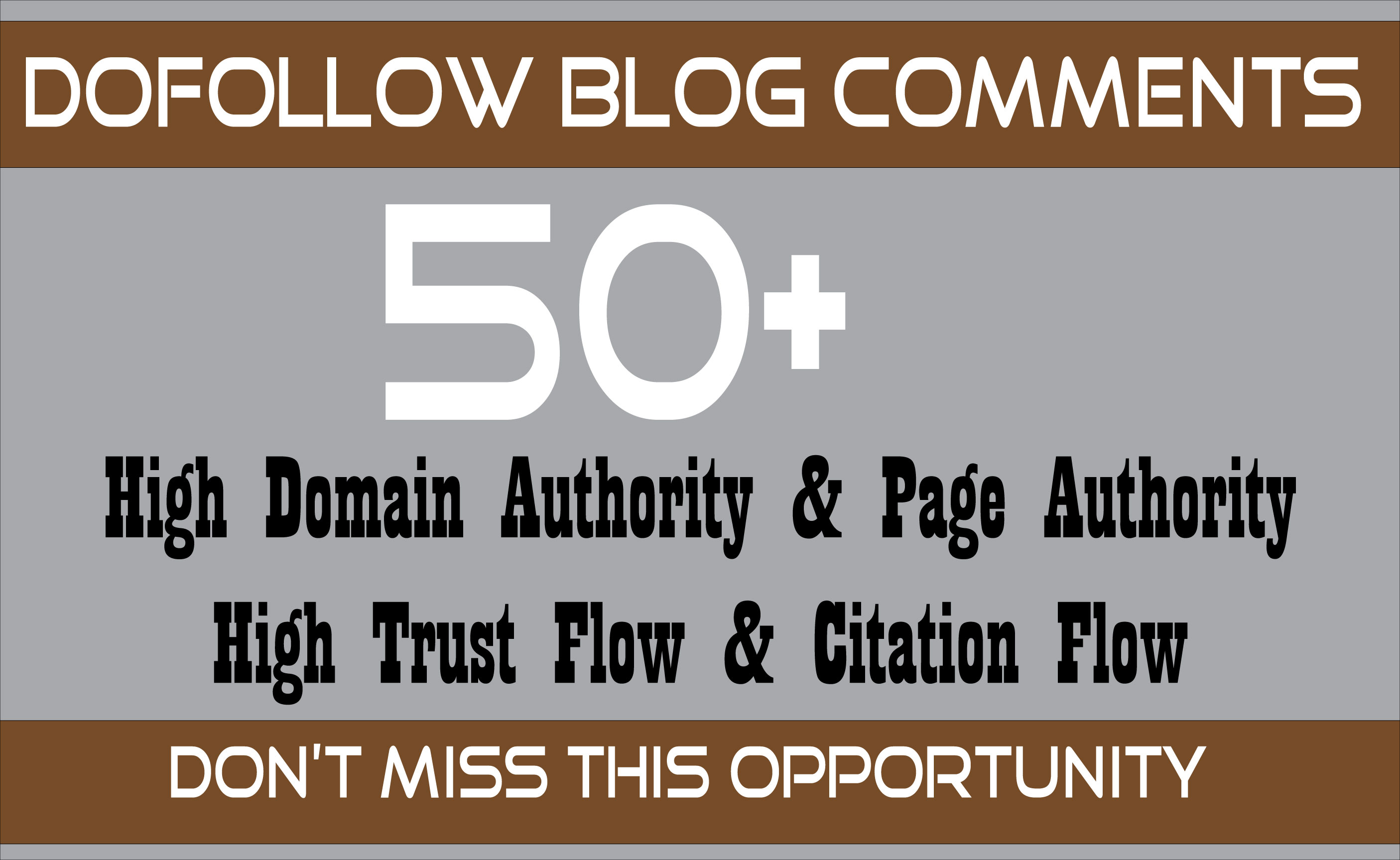 Build High Quality 50 Dofollow Blog Comments Backlinks