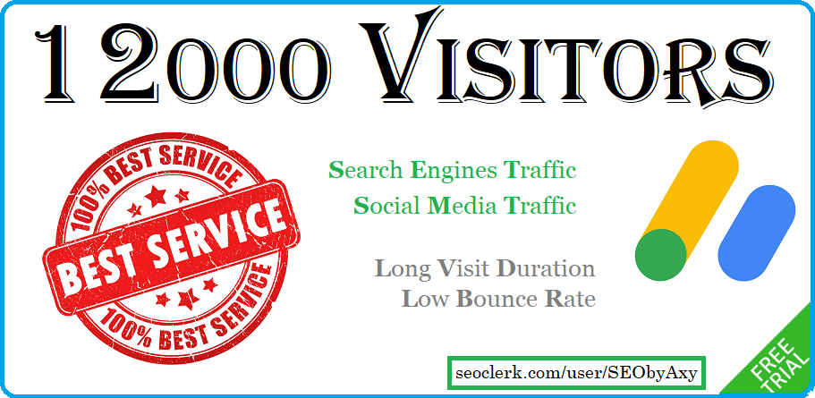 I Will Provide Organic Taffic By Keyword From Search Engines And Social Media