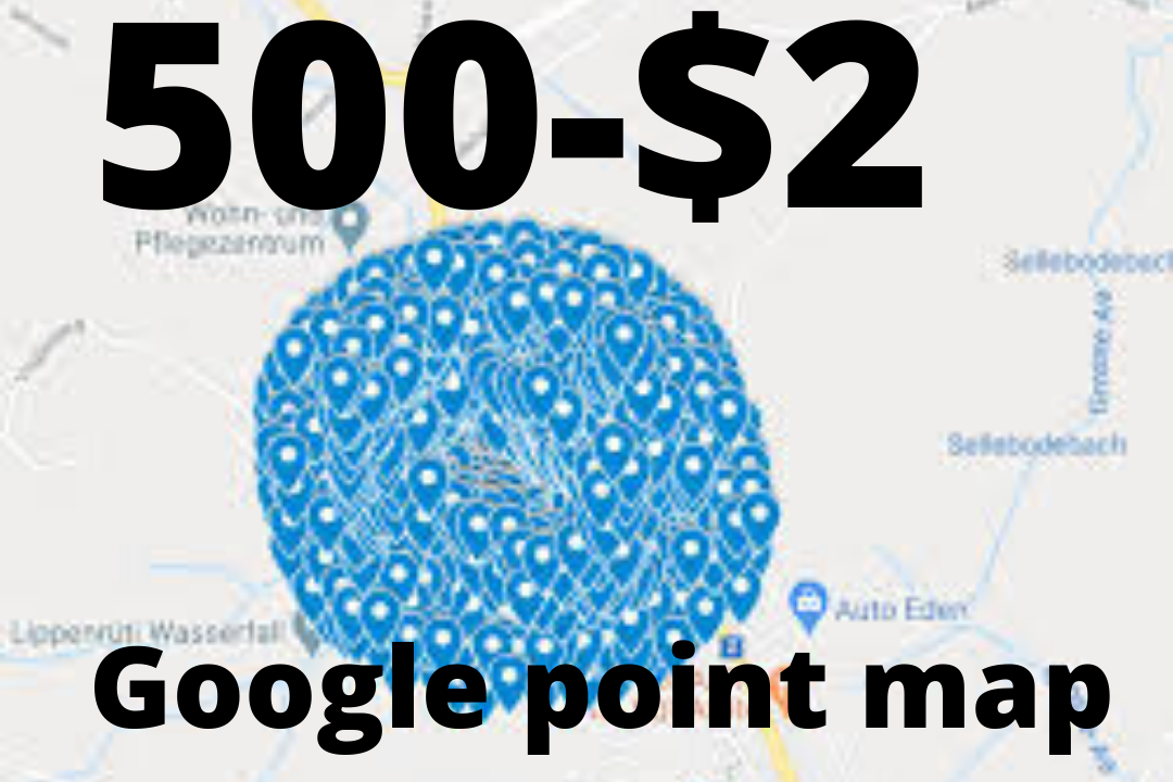 Make by seo expert 500 google point map citations listing with local SEO