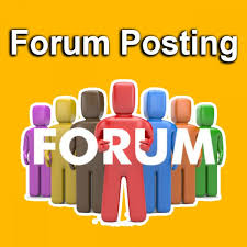 I can do 40 general forum posting for your site
