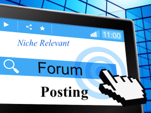 I can do 9 Niche relevant forum posting with high quality