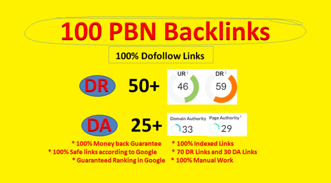 100 DR 50 to 60 permanant homepage pbn backlink