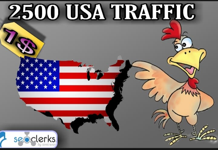 I Will send 2,500 USA Targeted Traffic with Low Bounce Rate