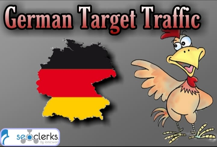 1600 GERMANY TARGETED traffic to your website or blog